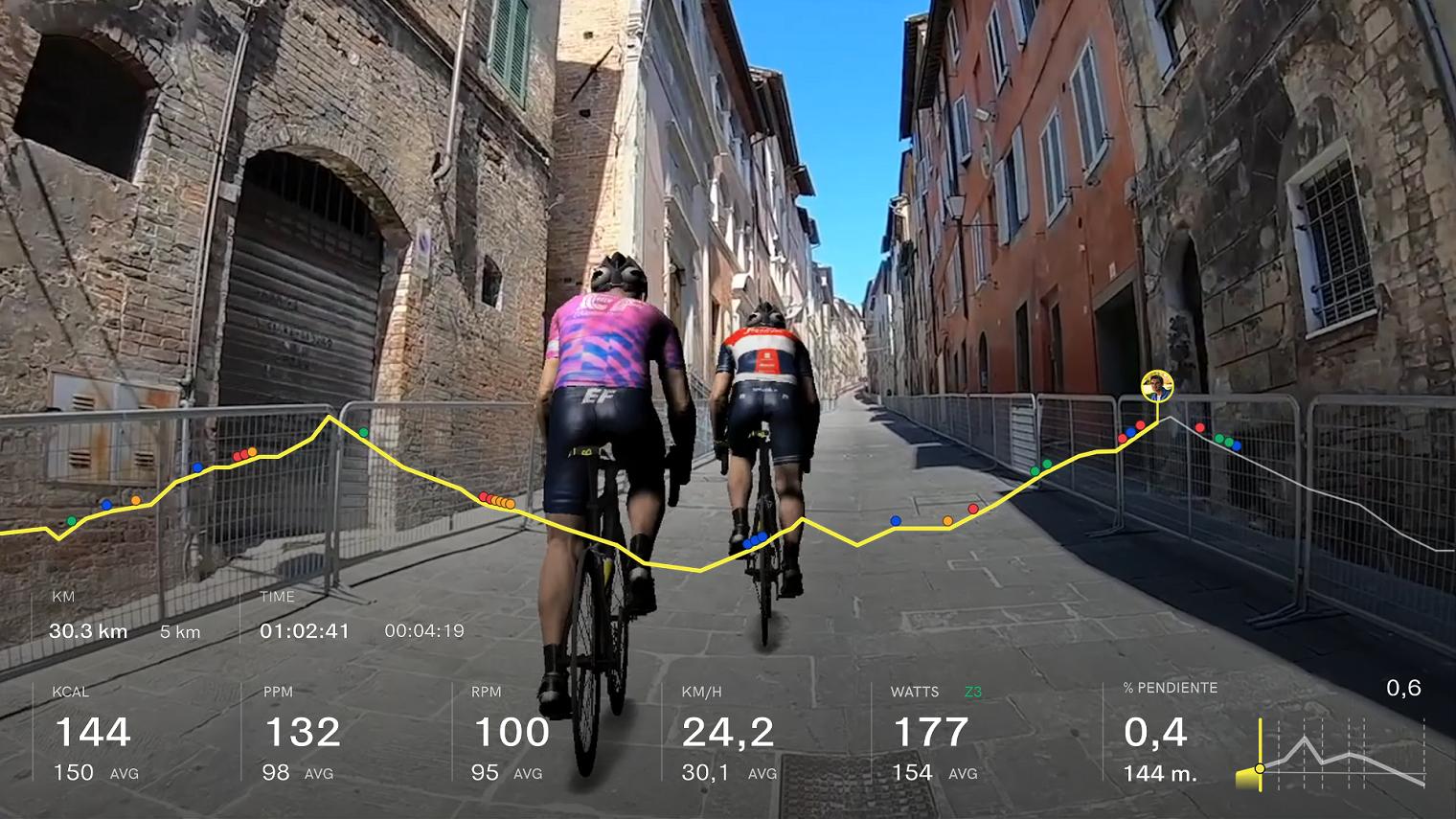 Giro Italia Virtual Bkool