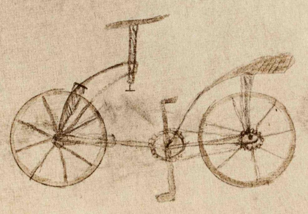 Leonardo da Vinci Codice Atlantico 133v