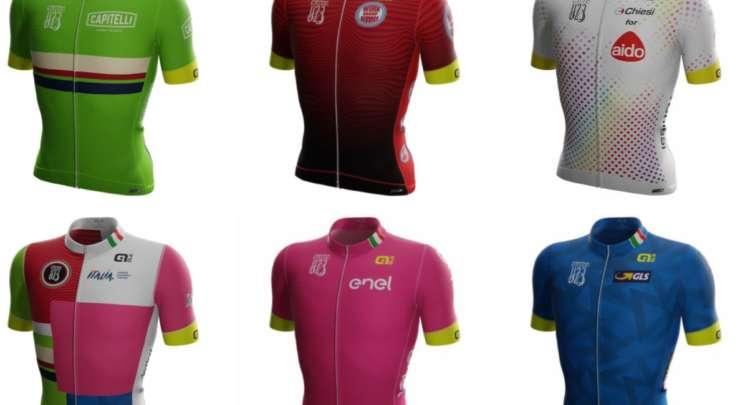 Maglie Alè 2021 per il Giro d'Italia Under 23