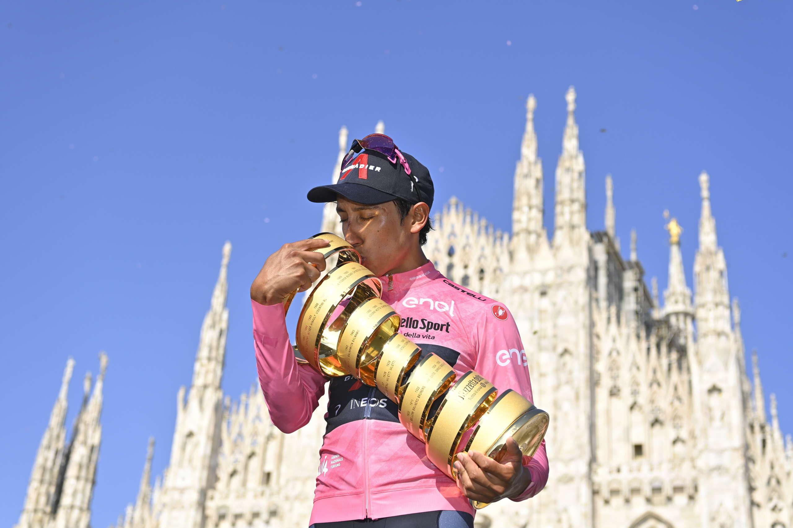 Bernal, Giro d'Italia 2021