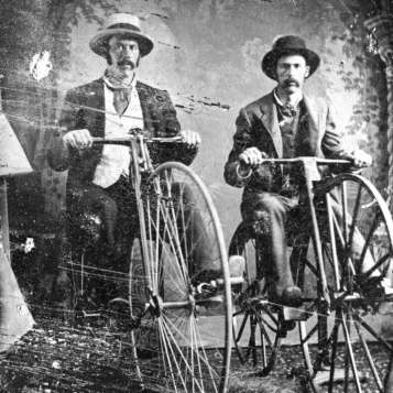 Penny farthing 1880