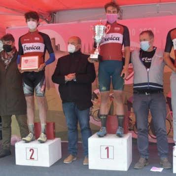podio della prima Eroica Juniores