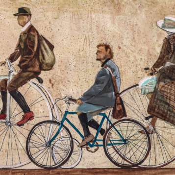 Bici vintage quadro