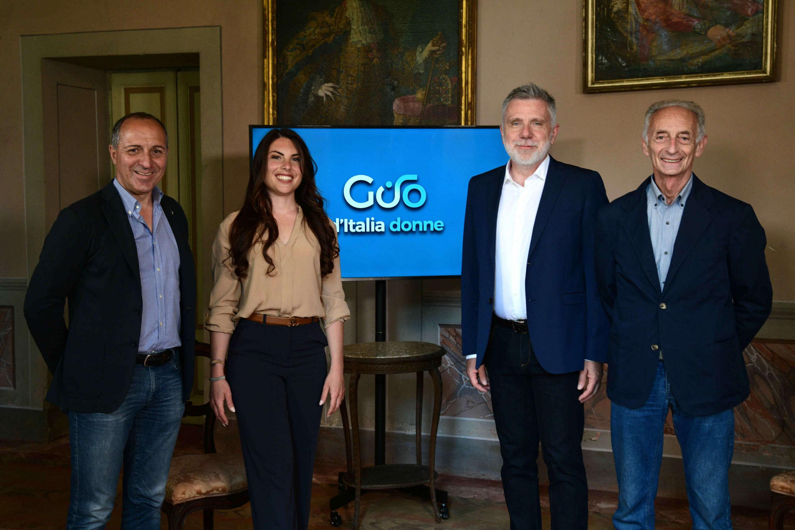 Giro d'Italia Donne conferenza stampa