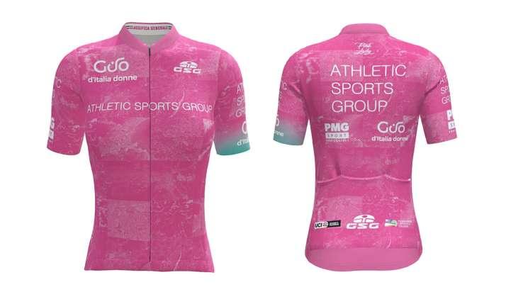 La maglia rosa del Giro d'Italia Donne 2021