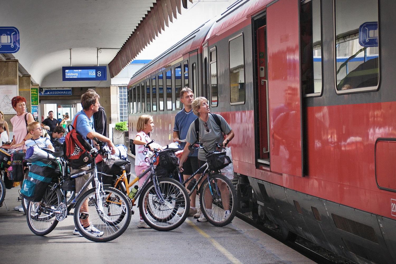 Bici e treno