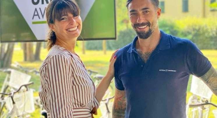 Ludovica Casellati e Vittorio Brumotti Uaw
