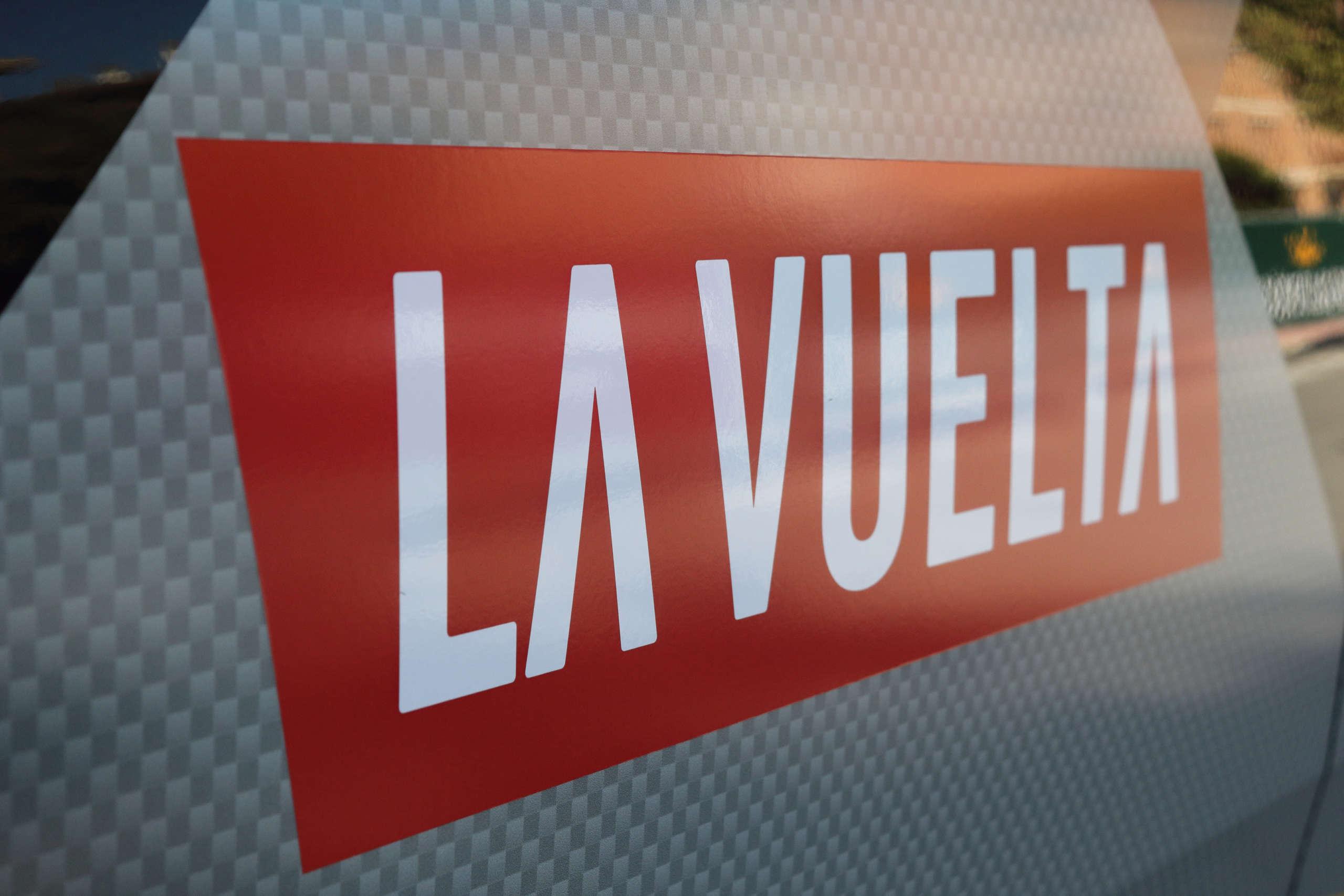 La Vuelta a Espana Logo (Shutterstock)