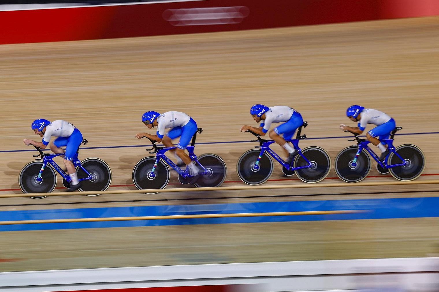 Quartetto olimpico Tokyo 2020 (Bettini Fci)