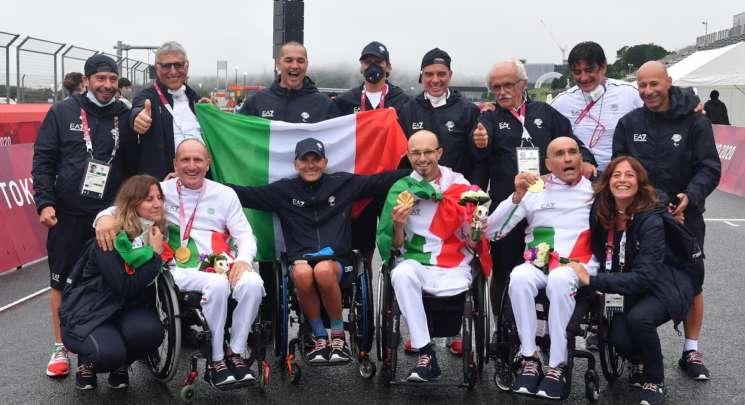 Tokyo 2020 team paraciclismo