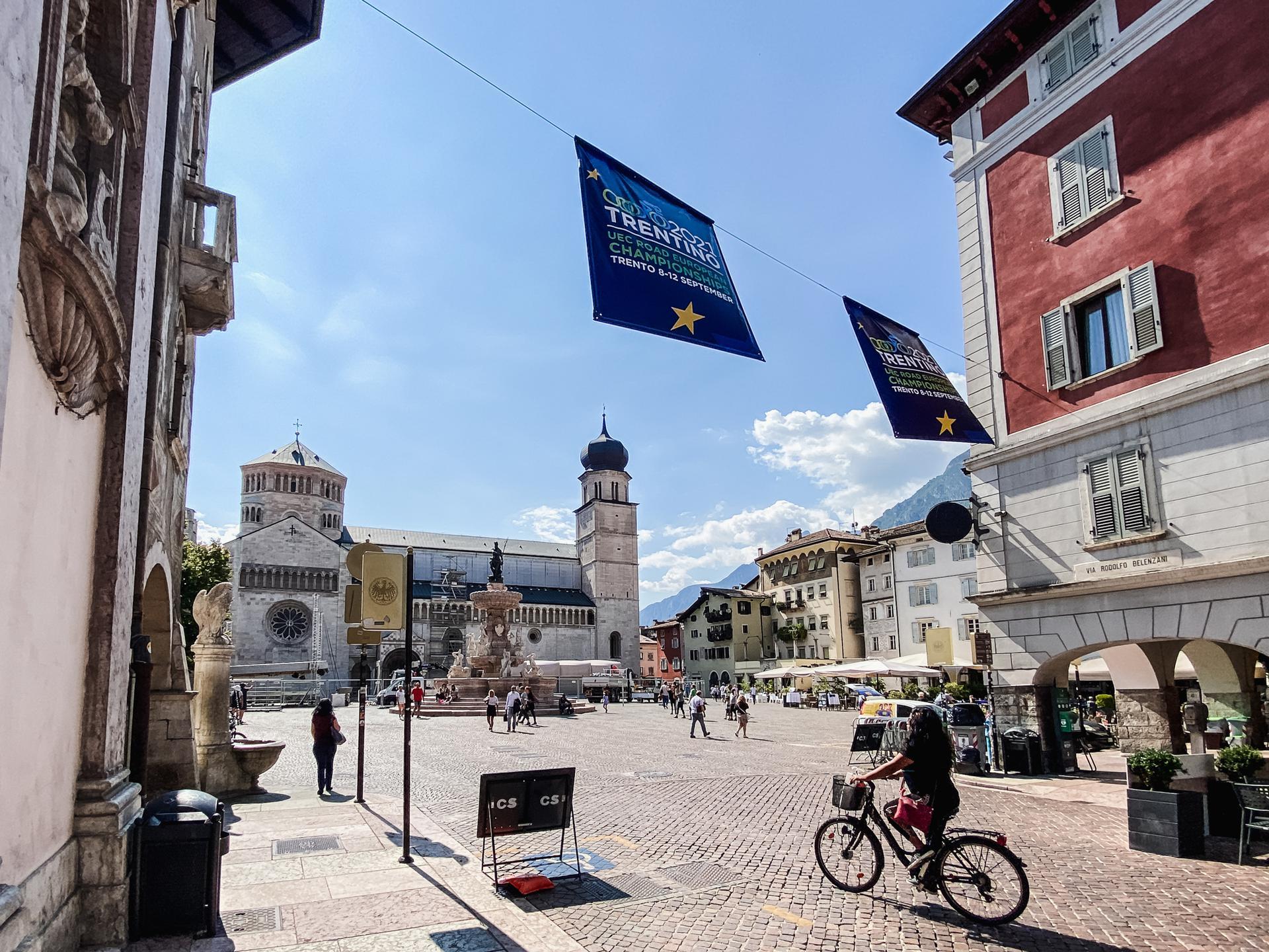 Piazza Duomo a Trento