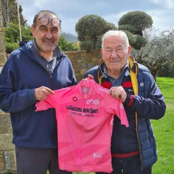 Sarri Maurizio Amerigo maglia rosa