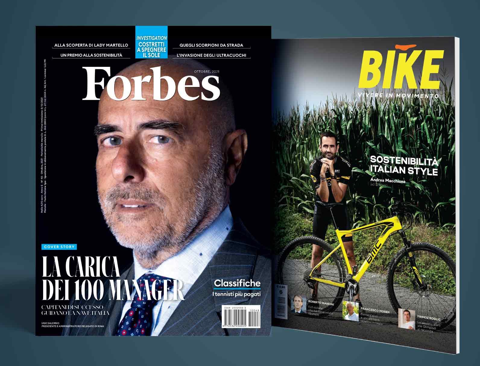 Forbes Italia e BIKE